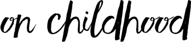 onChildhood_header